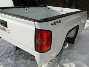Pick Up Box 8 Long Bed 8 Foot Bare Box Only 2015 Gmc Sierra 2500