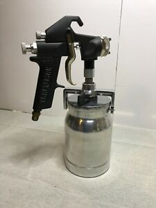 Sears Craftsman Spray Paint Gun 9 15515 With Can Vintage Tool