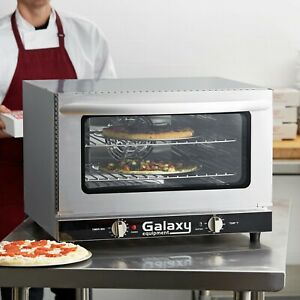 New Commercial Half Size Countertop Convection Oven 1 5 Cu Ft 120v 1600w