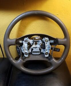 1995 1996 1997 Lexus Ls400 Steering Wheel Brown