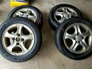 Set Of 4 Wheels And Tires 195 60 R15 Local Pickup