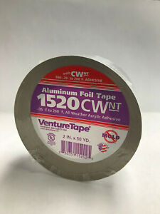 New 3m Venture Tape 1520cw Cold Weather Alum Foil 2 X 50yd Free Shipping