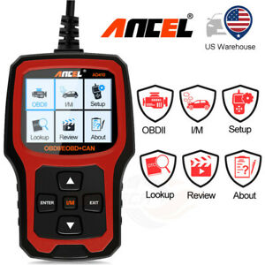 Ancel Ad410 Obd2 Auto Scanner Diagnostic Tool Car Check Engine Light Code Reader