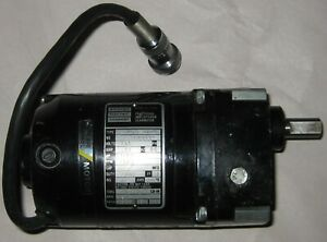 Bodine 115v Dc Gear Motor Nsh 11d4 20 Rpm 40 Lb in 90 1 Gear 1 2 Shaft