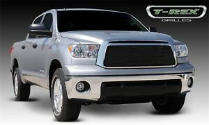 For 2010 2013 Toyota Tundra Black Aluminum Grille