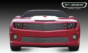 For 2010 2013 Chevrolet Camaro Polished Aluminum Grille