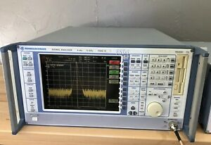 Rohde Schwarz Fsig13 Signal Analyzer 9 Khz 13 Ghz Vector Analyzer Fsig 13