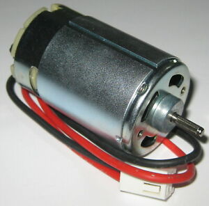 24 V 1800 Rpm Slow Speed Electric Dc Motor W Cable Connector High Tq