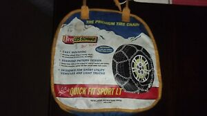 Les Schwab Quick Fit Sport Lt Tire Snow Chains Stock 2321 s 265 75r16
