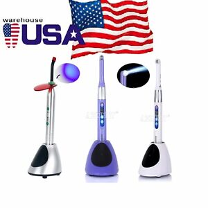 Us Dental Ortho Wireless Led Iled Curing Light Lamp 1 Sec Cure 2300mw 2700mw