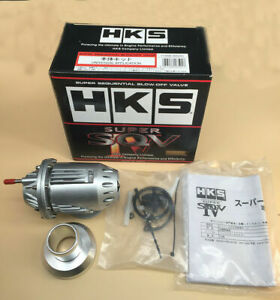 Universal Hks Ssqv4 Bov Super Sequential Iv Turbo Blow Off Valve Oem Silver