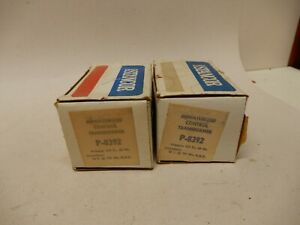 Stancor P 8392 Transformer Pair One Nos One Lightly Used