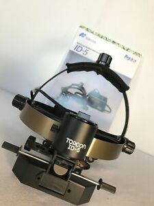 Topcon Id 5 Bio Binocular Indirect Ophthalmoscope Excellent Condition