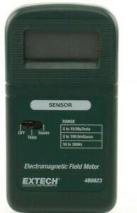 Extech 480823 Single Axis Emf elf Meter Electromagnetic Fields