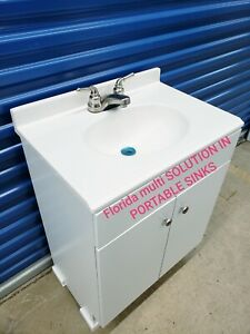 Portable Sink Mobile Handwash Self Contained Hot And Cold Water Concession 110v