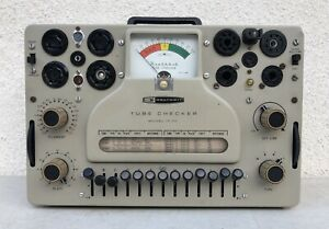 Heathkit It 17 Tube Tester Great Condition Tested Working