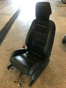 2010 2013 Mk6 Vw Gti Front Left Driver Seat Assembly Black Leather