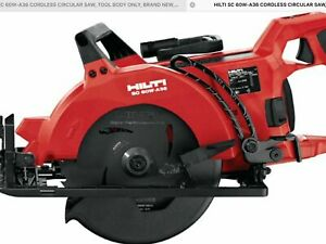 Hilti Sc 60w a36 Cordless Circular Saw Tool Only New In Box