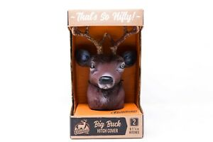 Big Buck Trailer Hitch Ball Cover Whitetail Deer Antlers Nib Outdoors By Nifty