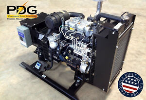 10 Kw Diesel Generator Perkins Epa Tier 4 Final single Phase