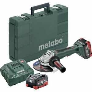 Metabo 6 Wheel Diam 9 000 Rpm Cordless Angle Disc Grinder 5 8 11 Spindle