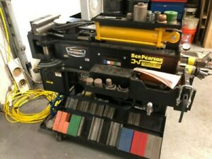 Ben Pearson Exhaust Pipe Bender With Die Set Vpe Max Beautiful Condition
