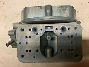 1969 List 4055 Dated 974 Holley Tri Power Corvette 3x2 Center Carb Body origina