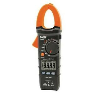 Klein Tools Cl210 400amp Ac Auto ranging Digital Clamp Meter W temp New In Pack