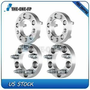 4 Pcs 1 25mm 5x4 5 To 5x114 3 Wheel Spacers 1 2 x20 For 1983 2011 Ford Ranger