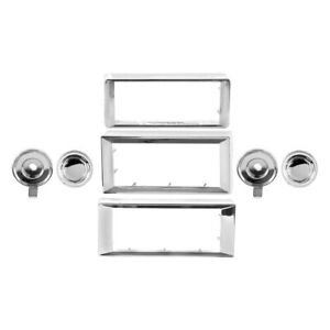 For Chevy Monte Carlo 1970 1985 Dynacorn Radio Bezel Knob Kit