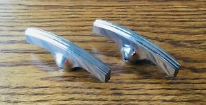 1930s Plymouth Dodge Quarter Window Crank Handles Vtg Mopar Opera Interior