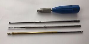 Depuy Synthes Orthopedic Instrument set Of 4 Ref 231200106