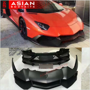 Body Kit For Lamborghini Aventador Lp 720 2011 2015 Fornt Rear Bumper
