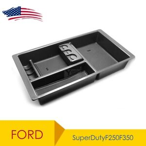 For Ford Superduty F250 F350 2011 2016 Lower Center Console Organizer Tray