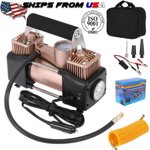Portable Heavy Duty Car Tyre Auto Tyre Inflator Pump Air Compressor 12v 150psi