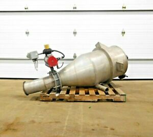 Ce 1009 Stainless Cyclone Dust Collector 304 Ss 28 Straightwall 24 Dia