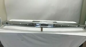 1965 Plymouth Valiant barracuda Front Bumper original Triple Plated