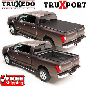 Truxedo Truxport Roll Up Bed Cover For 16 20 Nissan Titan Xd 6 5 W Utili Track