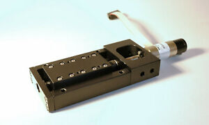 Motorized Linear Stage With Faulhaber Geared Dc Motor And Encoder