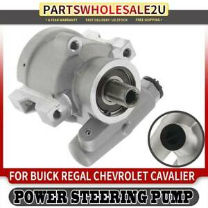 Power Steering Pump For Buick Regal Chevy Cavalier Pontiac Olds 20893 W O Pulley