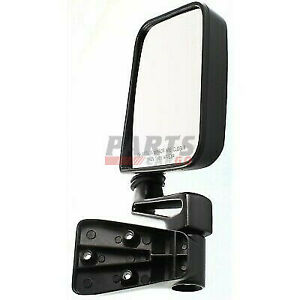 New Ch1321102 Mirror Fits 1987 2002 Jeep Wrangler 55027208