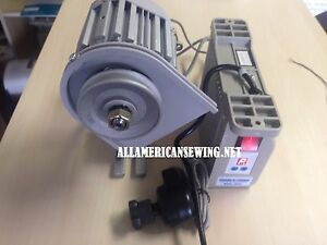 Consew Csm 3001 Brushless Servo Motor 750 Wt 1hp needle Positioner 50mm Pulley