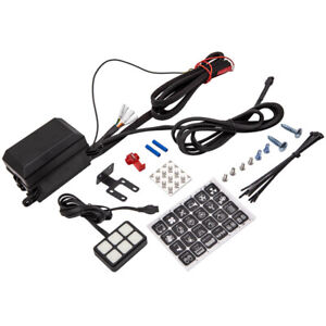6 Gang Buttons Switch Panel Electronic Relay Circuit Control Box For Offroad