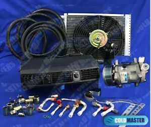 A C Kit Universal Under Dash Evaporator 202 Pv8 12x16 Cond W Electric Harness