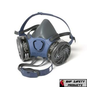 Moldex 7000 Series Half Face Respirator Mask With Cartridge Option