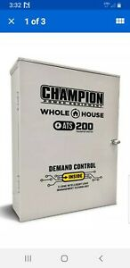 Champion Ats 200a Automatic Transfer Switch 200 Amp Nema 3r In Outdoor 101380