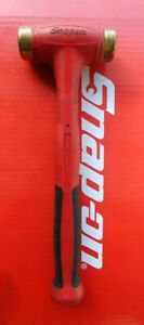 Snap On Tools 16oz Bronze Tipped Soft Grip Hammer Hbbt16