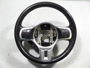 09 15 Mitsubishi Lancer Evo X Ralliart 3 Spoke Sport Steering Wheel Leather Ra