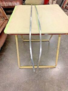 1951 Chevy Tin Woody Exterior Rear Fender Stainless Moulding Set Pass Driver