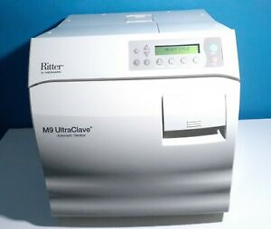 Midmark Ritter M9 Ultraclave Autoclave Automatic Sterilizer For Dentist